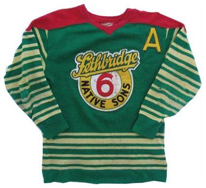 lethbridge Native Sons 49-50 jersey