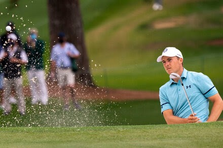 Jordan Spieth Had a Very Good Day at the Masters