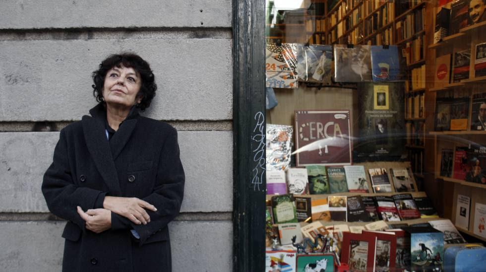 Anna Blandiana en Madrid en 2008.