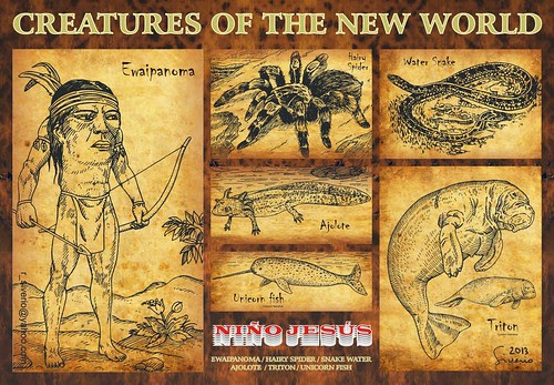Creatures of the New World by Niño Jesús