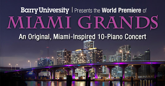 Barry University Presents the World Premiere of Miami Grands!