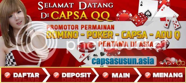 Main Game Poker Domino 99 Qiu Qiu dan Adu QQ Online di CapsaQQ