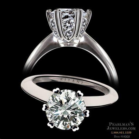 Ritani Micro Pave Diamond Engagement Ring
