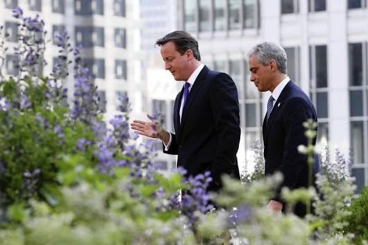 Mayor Rahm Emanuel meets with British Prime... - The Man On Five