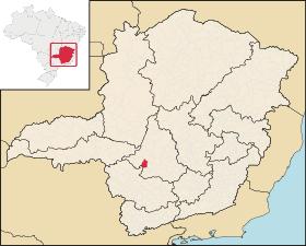 Localização de Iguatama