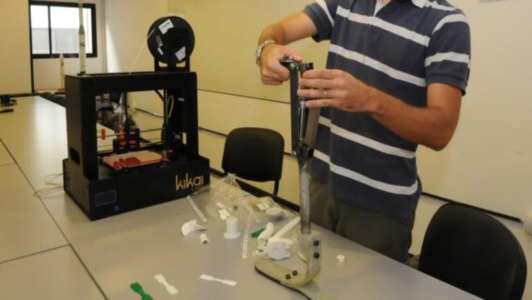 Ahora están trabajando en un modelo de plástico que se pueda realizar mediante una impresora 3D.