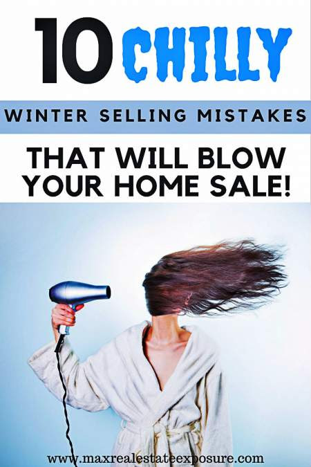 Winter Home Selling Mistakes to Avoid