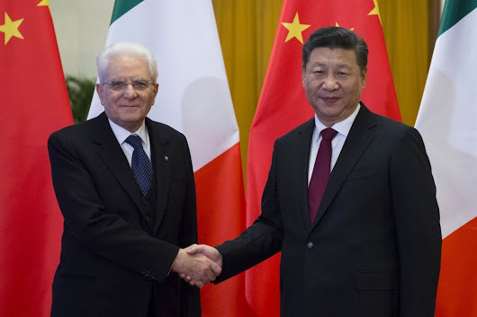 China and Italy to be united again by Silk Road that the U.S. is struggling to block