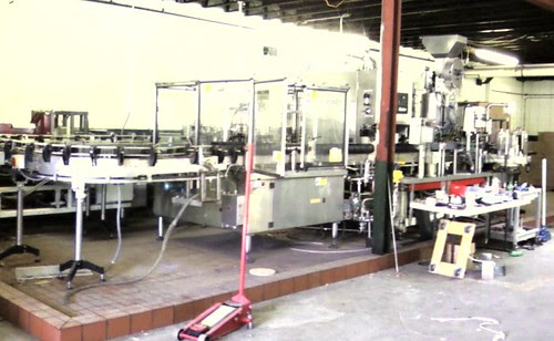 Legend bottling line
