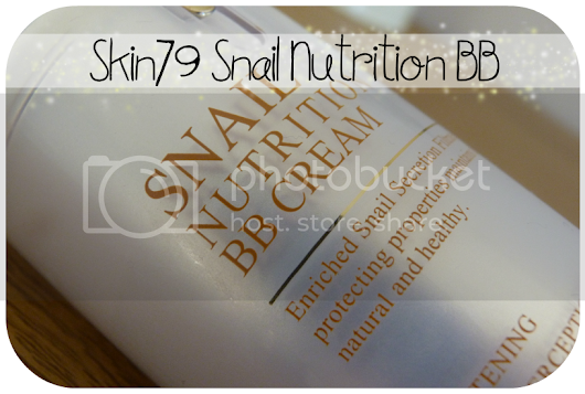 Skin79 Snail nutrition BB cream review
