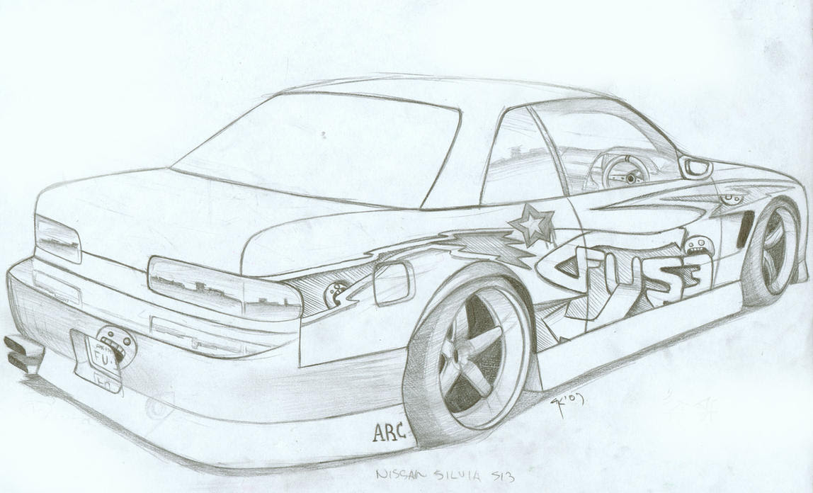 Nissan Silvia S13 by FuseEST on DeviantArt