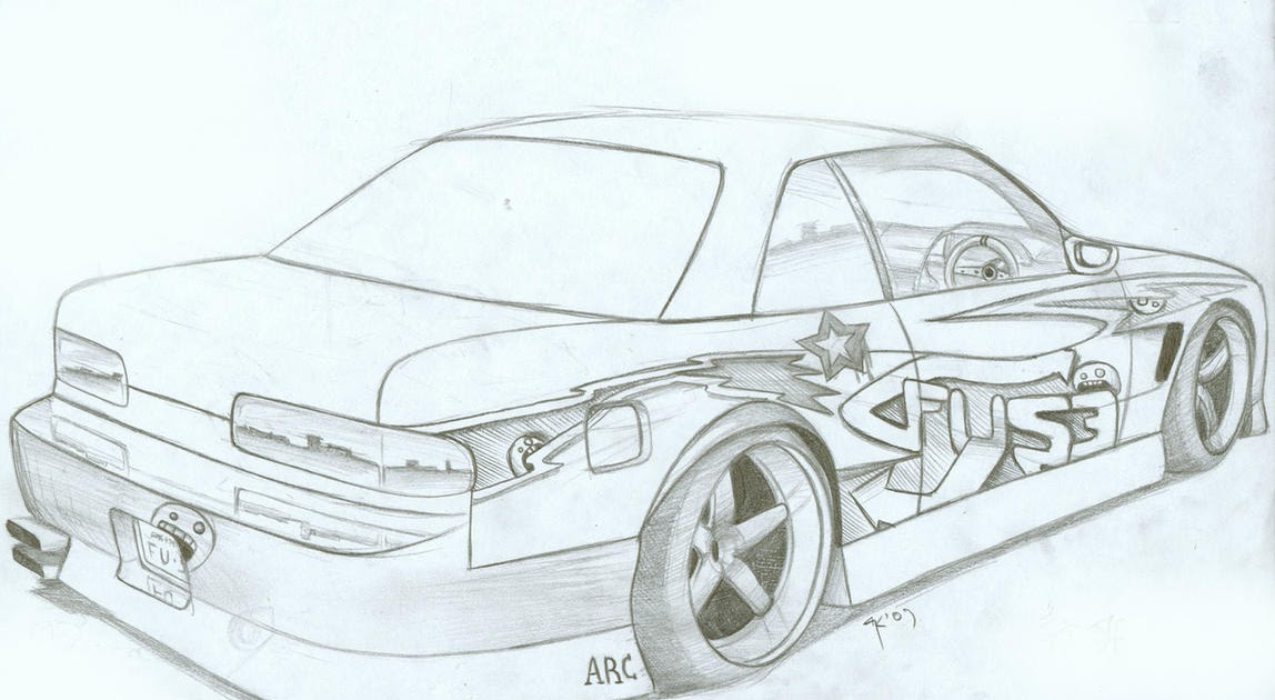 Nissan Silvia S13 by FuseEST on DeviantArt - Cars Coloring Pages