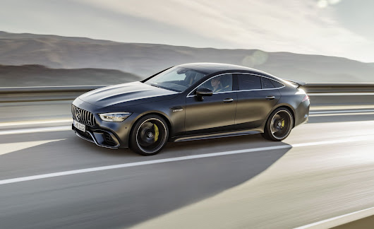 2019 Mercedes-AMG GT 4-Door Coupe Officially Unveiled, Packs up to 630 HP | News | Car and Driver