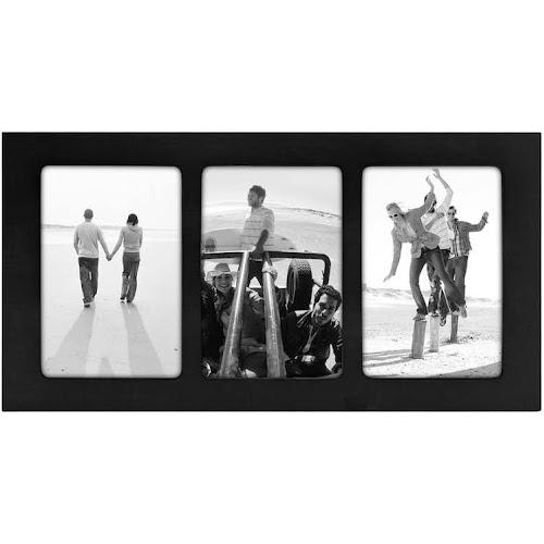 Google Express - Malden Trio 3-Opening 4\'\' x 6\'\' Frame - Black