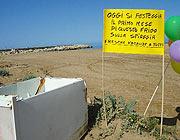Dalla spiaggia di Donnalucata, in Sicilia (N. Cannata, da Raeeporter)