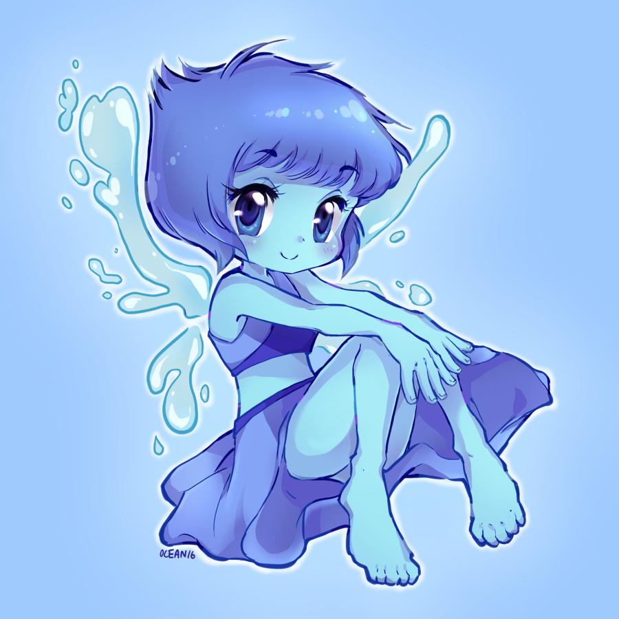 Lapis! 1/6 Steven Universe print set comin soon ;> Will post one daily!