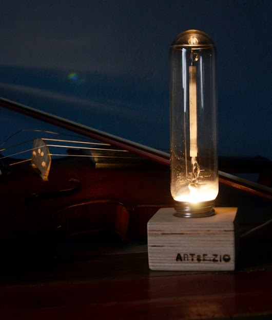 MEMORY of  LIGHT  Table or reading light. A286 by artefizio
