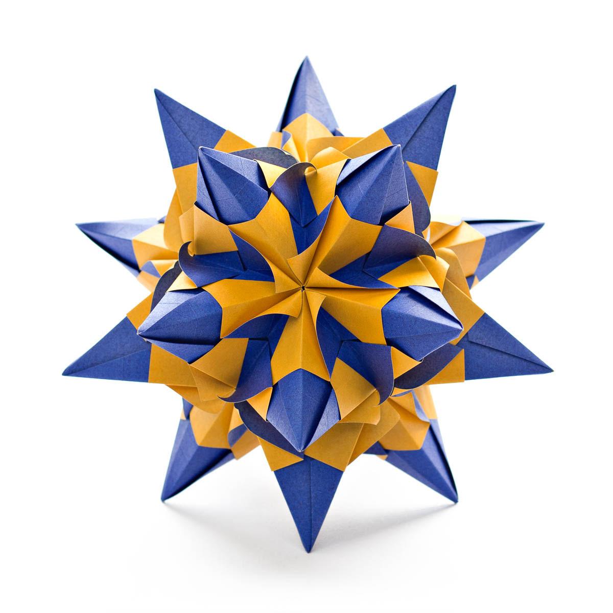 Talitha Star by Maria Sinayskaya — Diagram   Go Origami