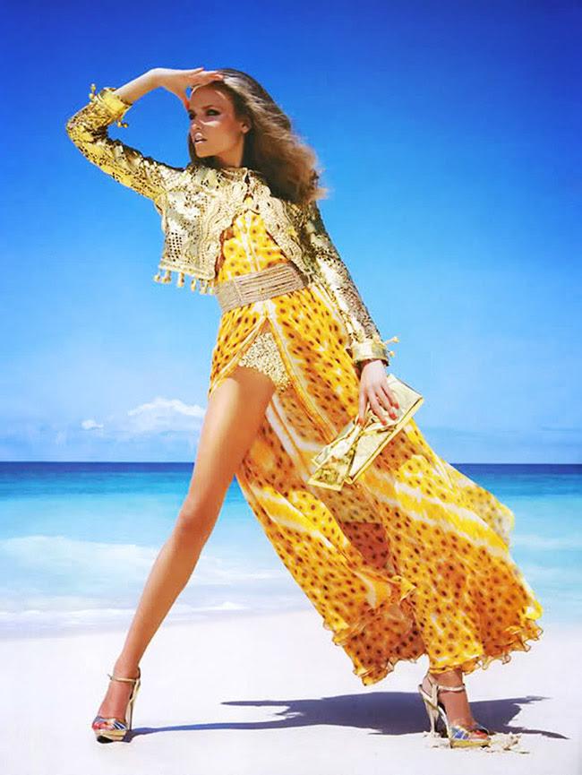 Natasha Poly, Fashion editorial, Style inspiration