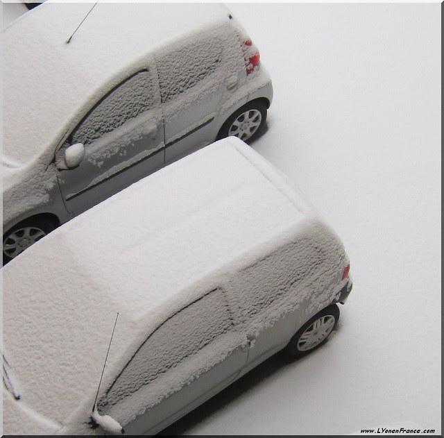 neige+voitures