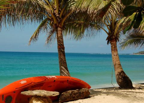 Saud Beach kayak