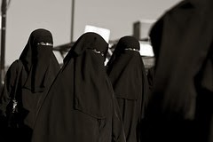 Saudi women banned from exercise.