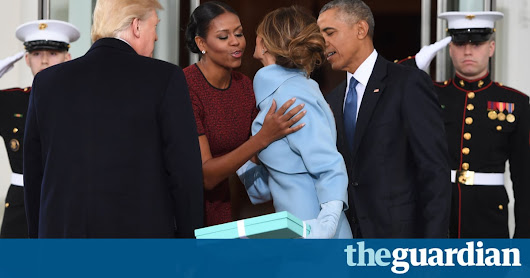 What's inside the Tiffany box? Imagining Melania Trump's gift to the Obamas | World news | The Guardian
