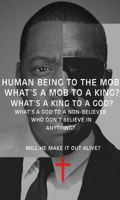 Famous Church Quote Human Being To The Mob Whats A Mob To A King