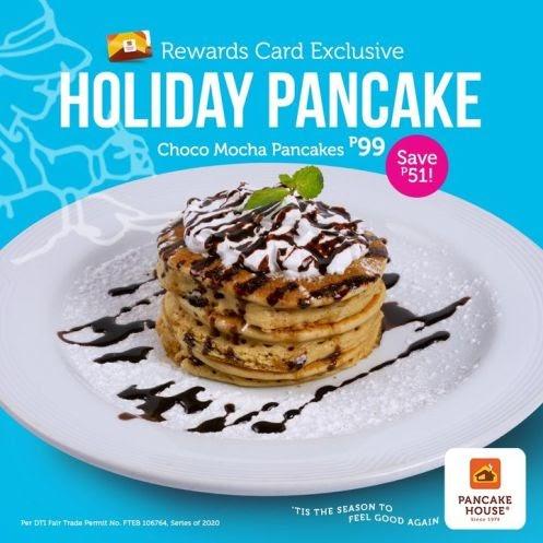 NEW Pancake House Choco Mocha Pancakes