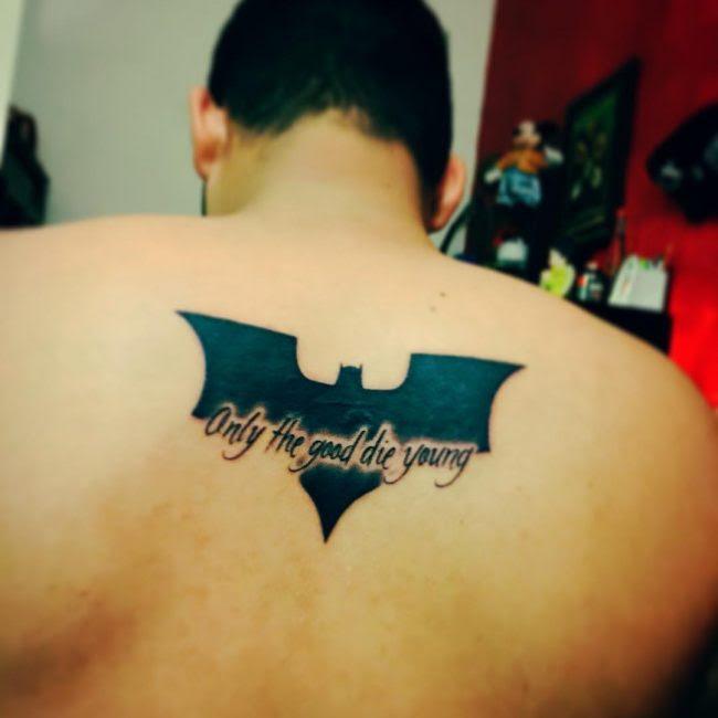 100 Best Batman Symbol Tattoo Ideas Comic Superhero 2018