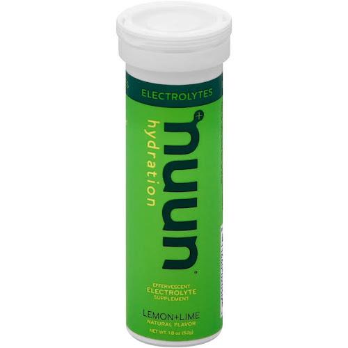 Nuun Active Electrolyte Drink, Tablets, Lemon+Lime - 10 count