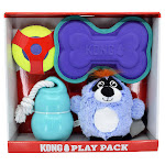 Kong Play Pack Dog Toys, 4-Count