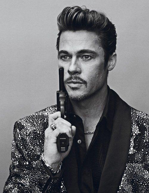 Interview Magazine - November 2012, Brad Pitt