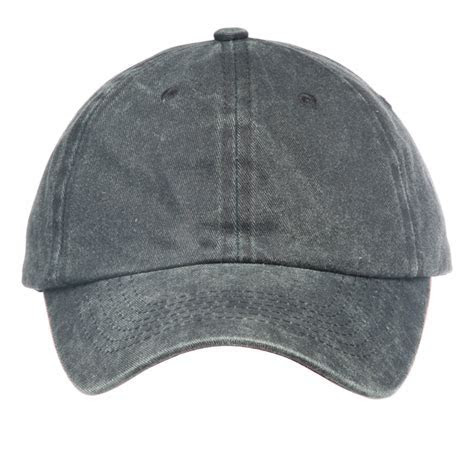 Custom 6 Panel Washed Cotton Unconstructed Caps   CAP21