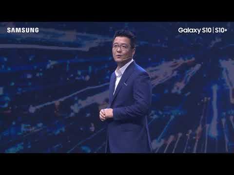 Họp báo ra mắt siêu phẩm Samsung Galaxy S10 | S10+ ấn tượng