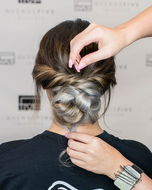 Step-by-Step Up-Do Tutorial for Beginners - Avenue Five Institute