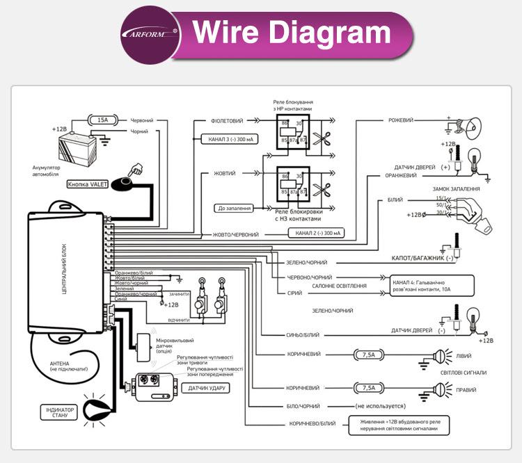 giordon car alarm system wiring diagram image 6