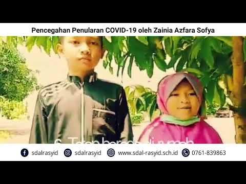 Pencegahan Penularan COVID 19 oleh Zainia Azfara Sofya