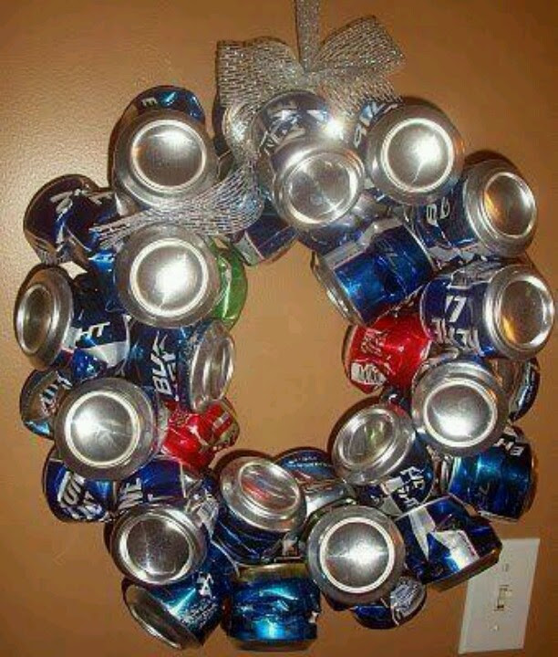 Redneck Christmas wreath!!