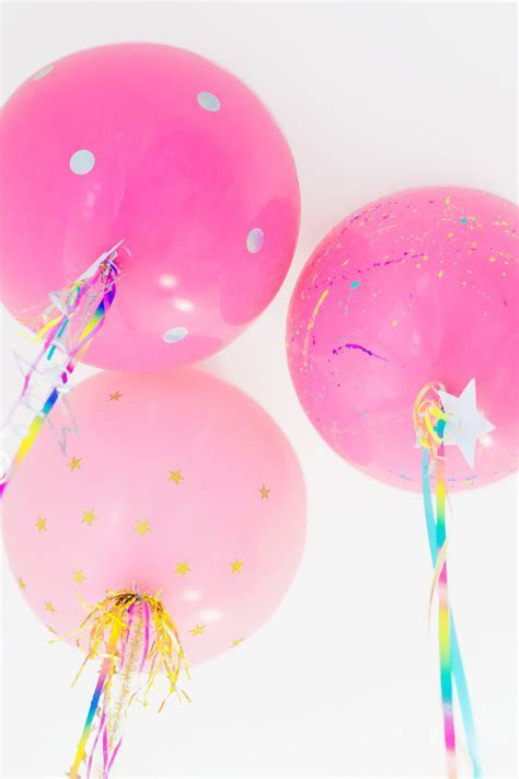 DIY Unicorn Balloons   Studio DIY