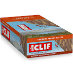 Clif Energy Bars, Crunchy Peanut Butter - 12 pack, 2.4 oz bars
