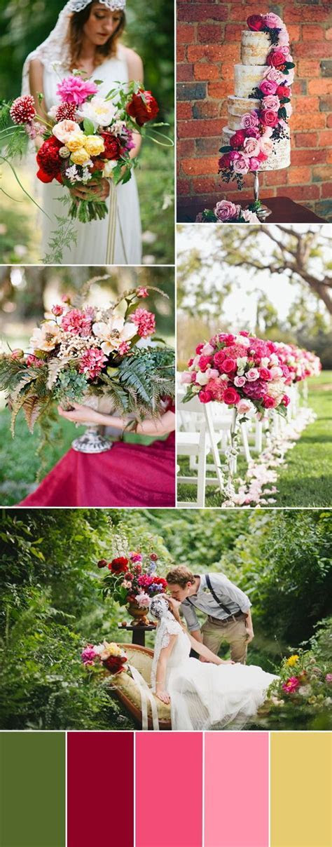 25  best ideas about Raspberry wedding color on Pinterest