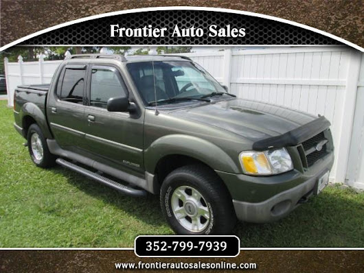 Used 2001 Ford Explorer Sport Trac 2WD for Sale in Brooksville FL 34613 Frontier Auto Sales