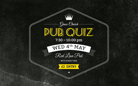 Pub Quiz - 27 Apr 2016 | Grace Church Manchester