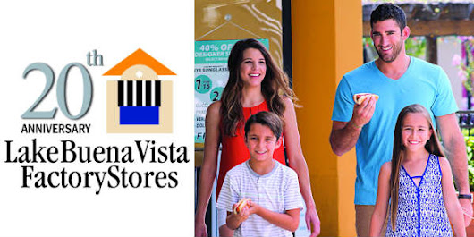 Win A $50 Gift Card to Shop #20YearsofDeals at Lake Buena Vista Factory Stores @Lbvfs - CitySurfing Orlando