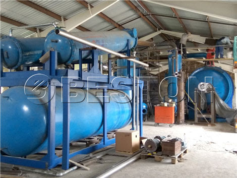 Beston Waste Plastic Pyrolysis Plant - The Competitive Product in The Market Beston Group Waste Recycling Plant