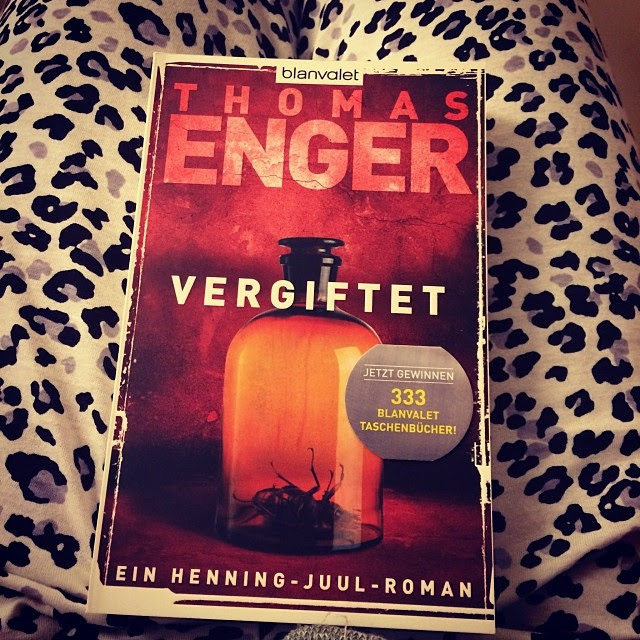 Thomas Enger Vergiftet Roman German Novels Crime fiction