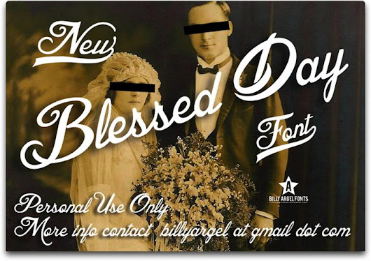Blessed Day font by Billy Argel - FontSpace