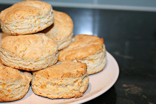 Herbed Cheese Buttermilk Biscuits