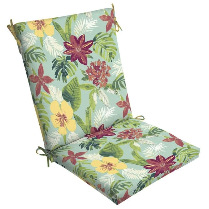 Arden Selections Elea Tropical Patio Chair Cushion In The Patio Furniture Cushions Department At Lowes Com